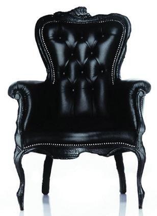 Moooi Smoke Black Armchair | www.settingforfour.com