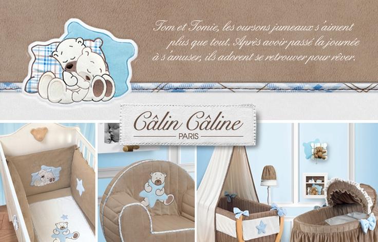 Collection Câlin Câline TOM. Invitez la gourmandise & la douceur dans la chambre de bébé. www.calincaline.fr