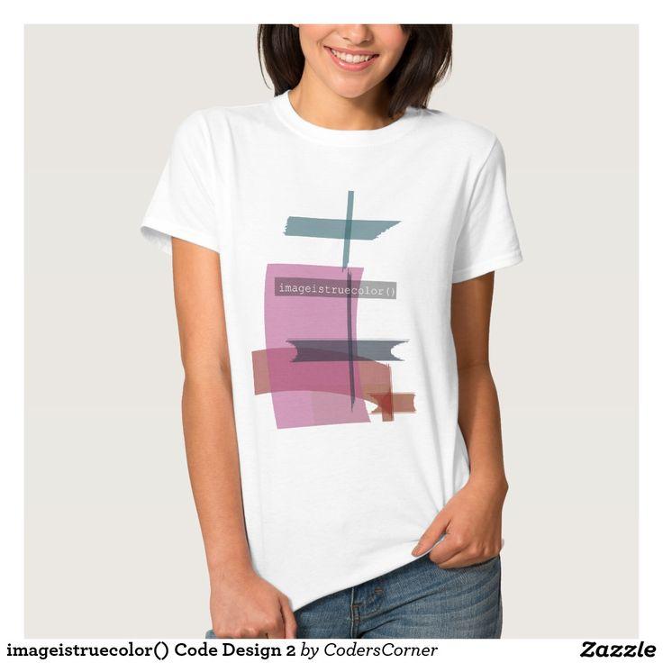 imageistruecolor() Code Design 2 Tshirt