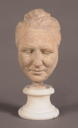 Portrait Head of Gertrude Stein,  1923,  terra cotta,  Jo Davidson,  born New York, N.Y. 1883,  died Tours, France 1952,  Museum purchase made possible by The Simon Schwob Acquisition Fund, 95.24