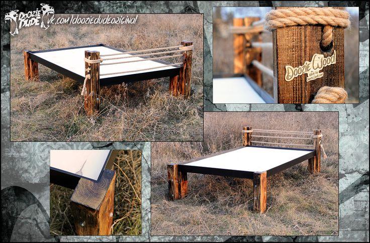 Кровать. Серия изделий Doozie Wood   #dooziedude #dooziewood #loft #wood #interior    #bed