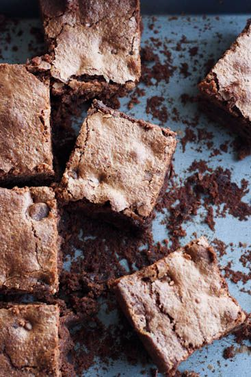 buckwheat flour brownies | london bakes