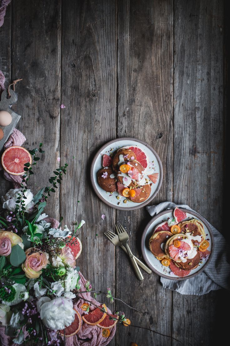 Grapefruit Mascarpone Pancakes with Maple Creme Fraiche + An Online Photography Workshop http://adventuresincooking.com/2017/04/grapefruit-mascarpone-pancakes-with-maple-creme-fraiche-an-online-photography-workshop.html