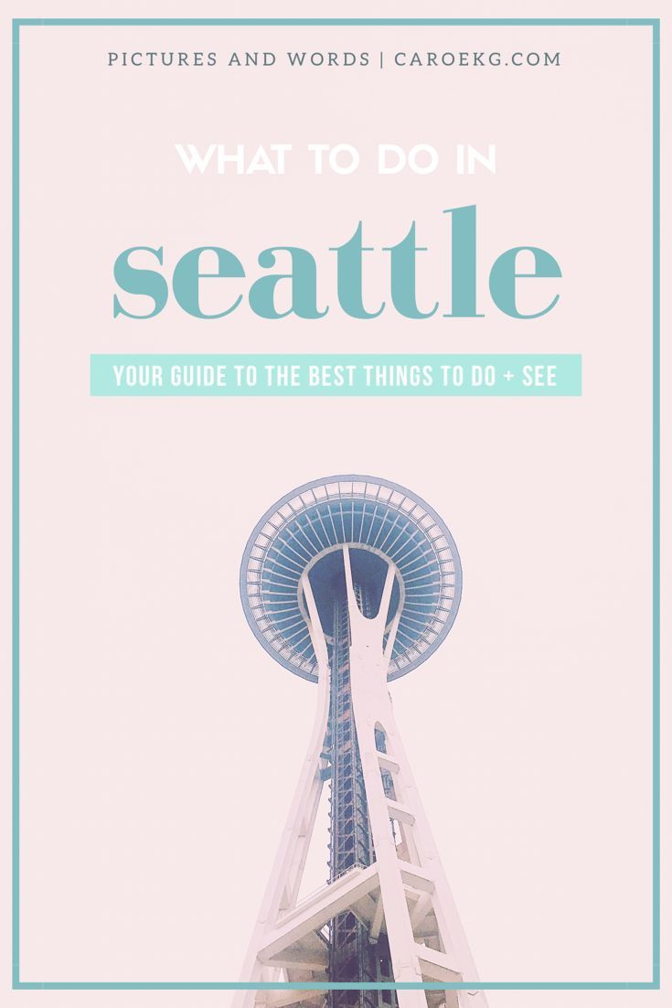 12 things you must do in Seattle, Washington: your guide to the best things to do and see in the Emerald City. Things to do in Seattle, Seattle travel, Seattle Guide, Seattle activities, must-do in Seattle