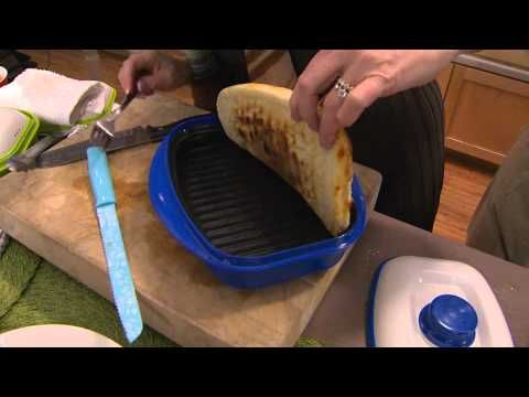 Rangemate 3 pc set Nonstick Microwave Grill Pan with Carolyn Gracie - YouTube