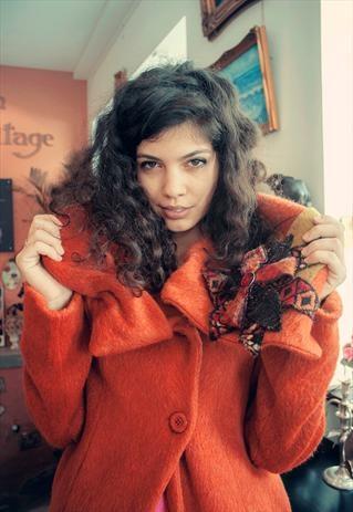 Yaffa Tangerine Jacket
