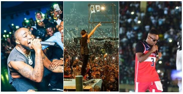 13 concerts that shook the foundation of Nigeria in 2017 – The crowd that attended #2 & #9 is up to a country's population (With Pics)