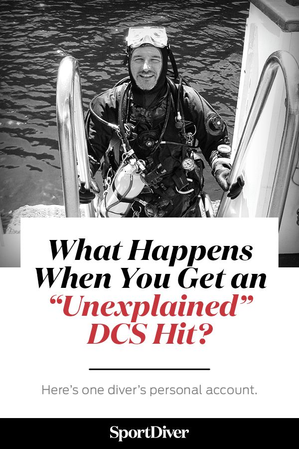 """What Happens When You Get an """"Unexplained"""" DCS Hit? — What happens when you follow all of the safe scuba diving guidelines but still suffer from decompression sickness (the bends)? Here's one diver's personal account. #divetraining #divesafety"""