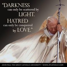 youth quotes from saint pope john paul II - Google Search