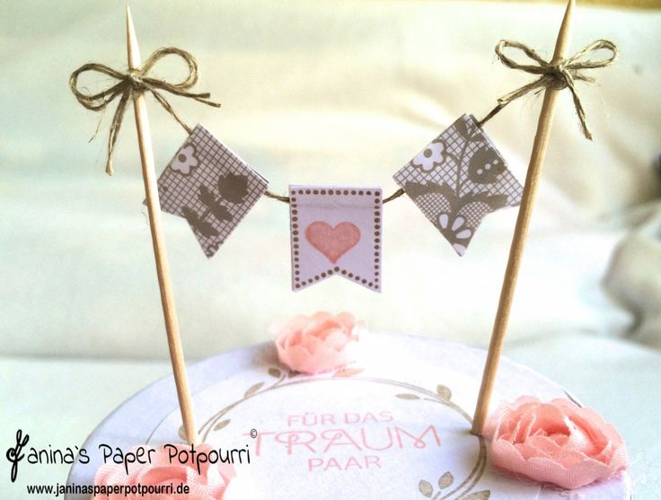 jpp - Verpackung Hochzeitstorte / wedding cake gift box / Stampin' Up! Berlin / Trau dich / Kreativ Set Accessoires / Perfekter Tag / Im Fähnchenfieber / Something borrowed / your perfect day www.janinaspaperpotpourri.de