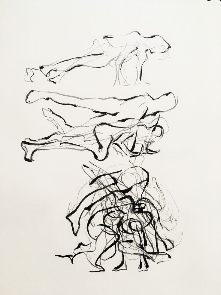 바닥에서의 움직임.춤.비보잉.현대무용.붓펜,연필