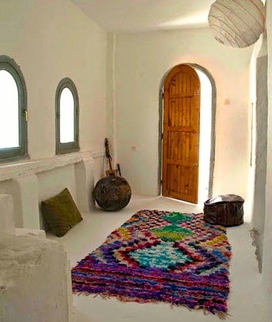 Bohemian Interior   Love that rug