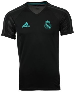 adidas Men's Real Madrid Club Team Training Jersey - Black XXL