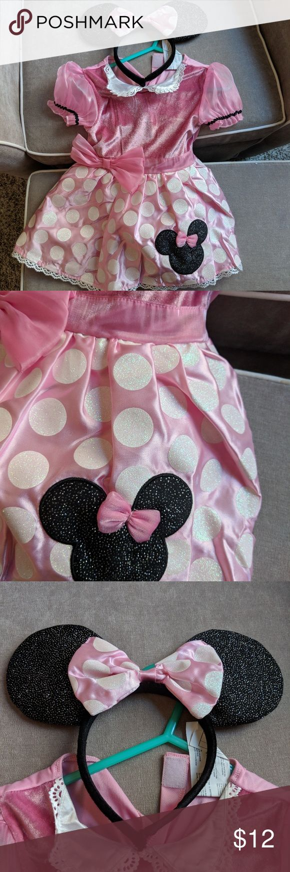 Mini Mouse Costume🐀🐁🍬🎃 2t, sooooo cute! Worn once, perfect condition Costumes Halloween