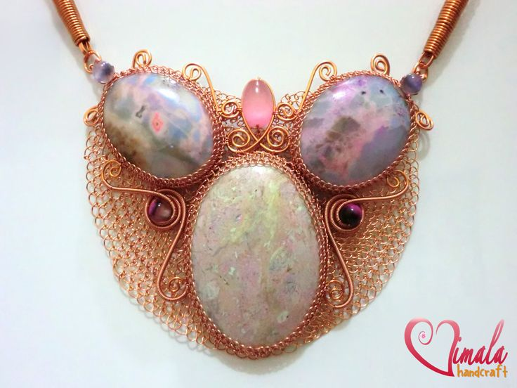 CLEOPATRA, Wire Wrapped Jewellery Necklace by ~vsvita on deviantART