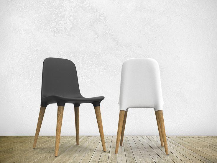Chaise En Mousse De Polyuréthane Intégrale TAKO 451 By Tonon | Design Mac  Stopa