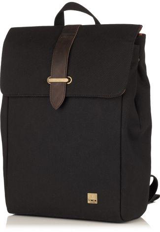 "Falmouth Black 15"" Laptop Backpack from KNOMO | Official Store | Men's 15"" Laptop Bag | Black Backpack | Rucksack | Laptop Bags | Laptop Sle..."