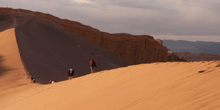 Hiking Atacama Desert Chile