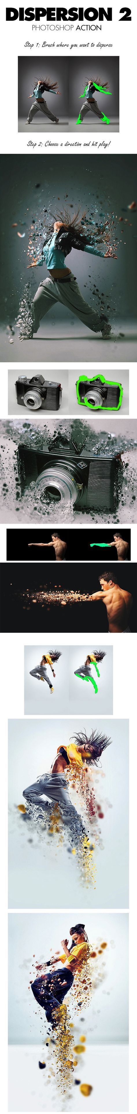 6-Dispersion 2 Photoshop Action