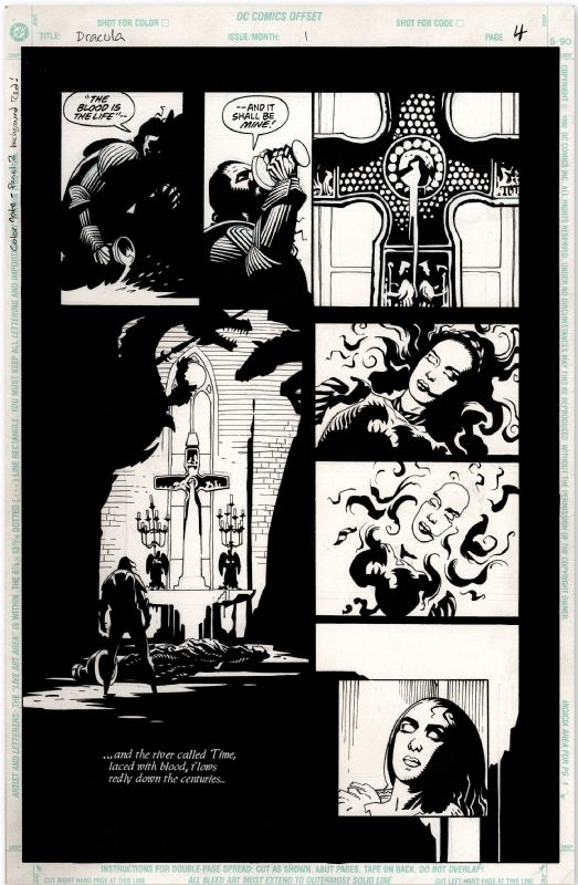 M. Mignola - Dracula Comic Art
