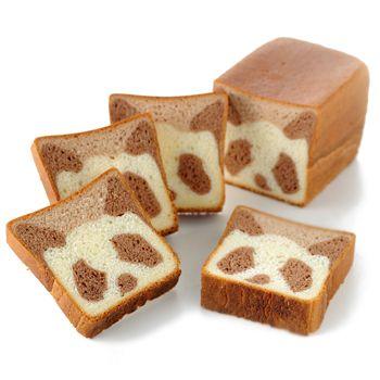 panda bread, CUTE!!                                                                                                                                                                                 More