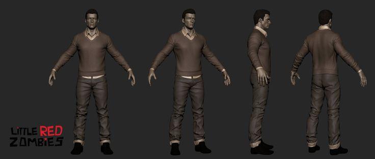 ArtStation - Male Anatomy Study, Tushank K. Jaiswal