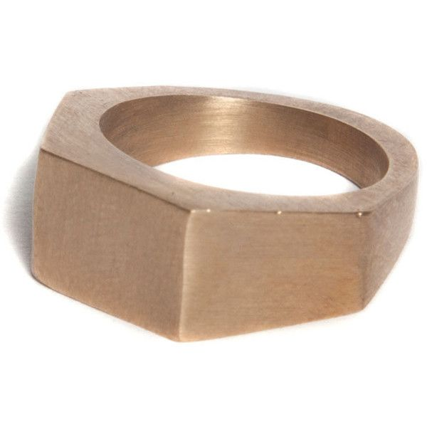 Bare Collection Bolt Ring  2 690 Mxn  Liked On Polyvore