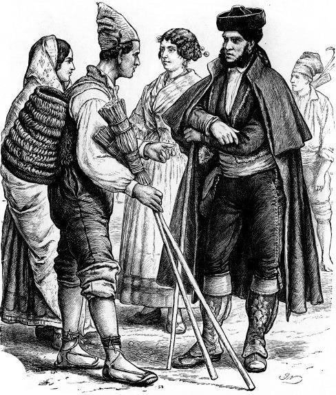 Испанский народный костюм 16 века