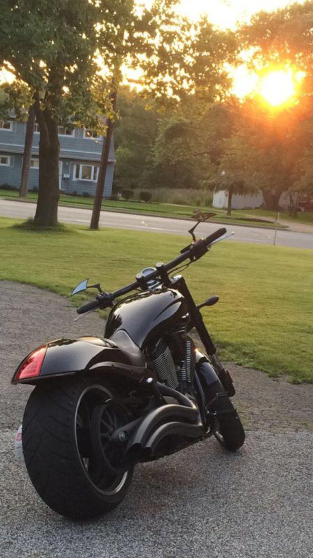 Car amp bike fanatics suzuki m50 bobber bike - Victory Hammer 8 Ball