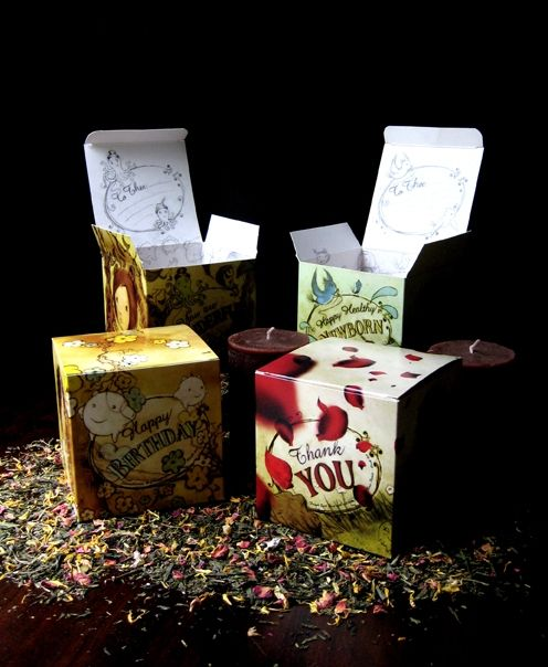 Tea Box Packaging on The Loop