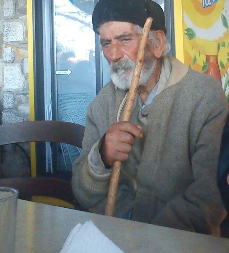 A man in Mani Greece .....