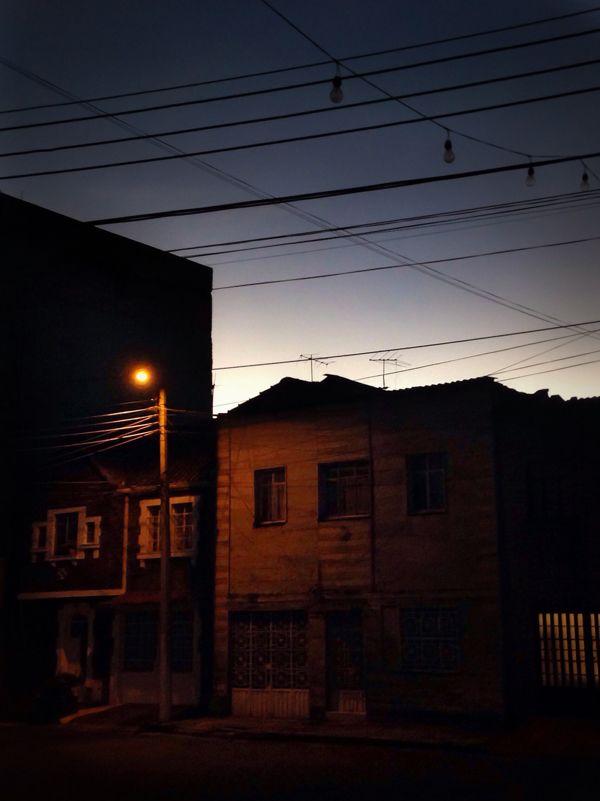 In the neighborhood / En un barrio de Chapinero by Juan Cristobal Cobo, via Behance