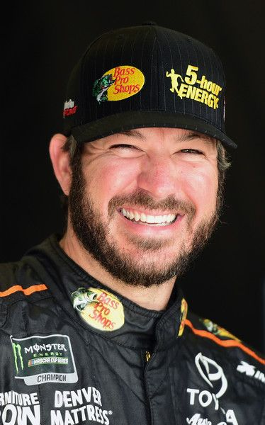 Martin Truex Jr., driver of the #78 Bass Pro Shops/5-hour Energy Toyota, looks on during practice for the Monster Energy NASCAR Cup Series Folds of Honor QuikTrip 500 at Atlanta Motor Speedway on February 23, 2018 in Hampton, Georgia. - 29 of 482