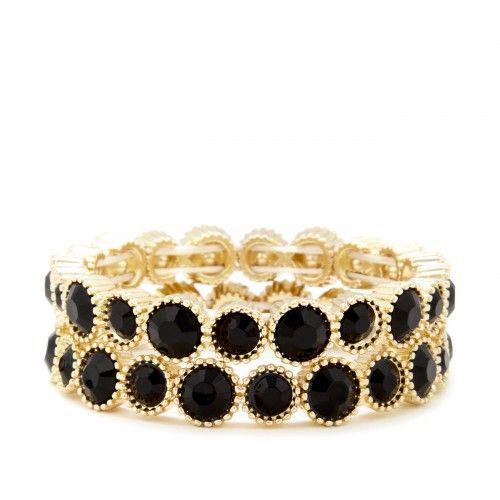 Black & Gold Chunky Bracelet