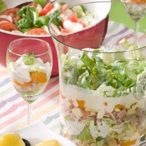 Schichtsalat mit Schinken oder Forelle - Landwirtschaftliches Wochenblatt Westfalen-Lippe