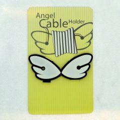 Kablolarınızı melekler düzenlesin... Ölçüler: 2,5 cm x 6,5 cm Renk: Beyaz-Siyah