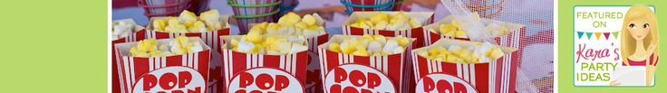 Popcorn, Cotton Candy & Sno-Cone Supplies - Party Fun