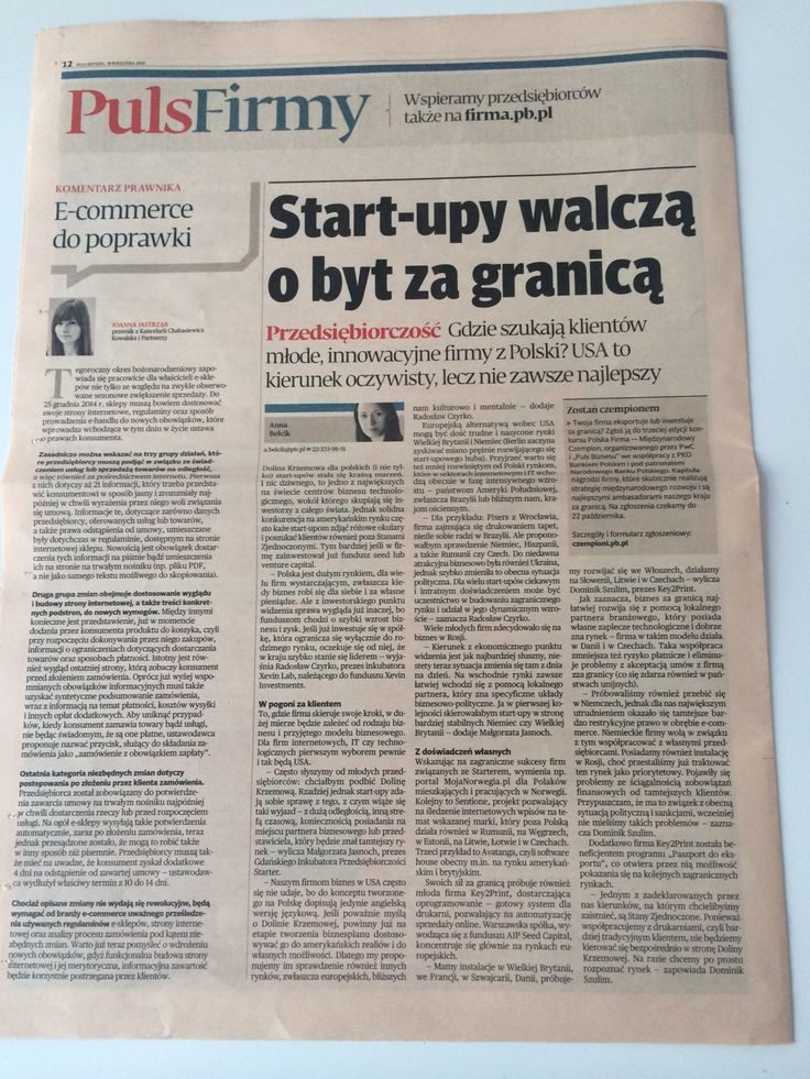 Gdański Inkubator Przedsiębiorczości w Puls Biznesu 2014.