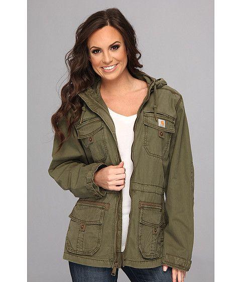 Carhartt El Paso Utility Jacket Army Green - Zappos.com Free Shipping BOTH Ways