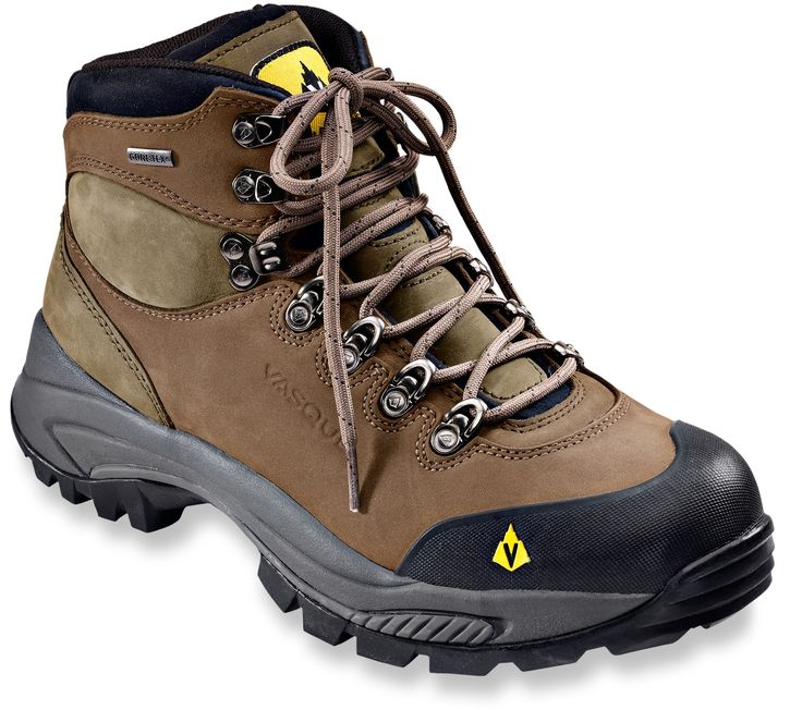 Sure, they're rough around the edges, but in Wyoming, I think these Vasque hiking boots would be a great investment.
