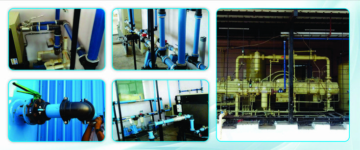 HIGH PRESSURE PUSH FIT PIPING SYSTEM FOR COMPRESSED AIR