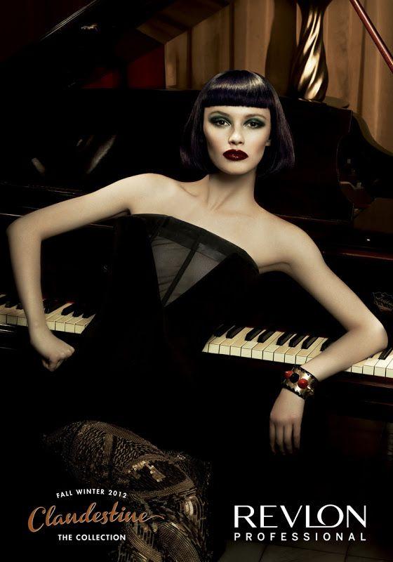Ranya Mordanova (Раня Морданова) for Clandestine F/W 2012 - Revlon Professional