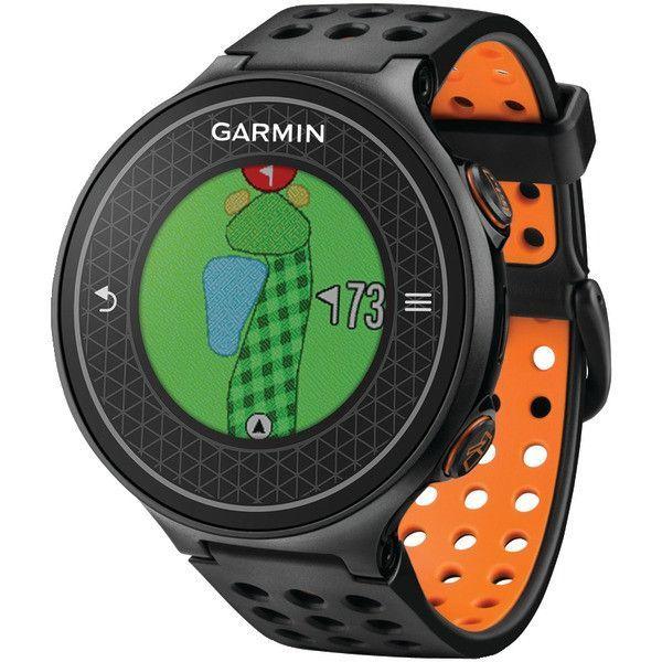 GARMIN 010-01195-02 Approach(R) S6 Golf GPS Watch (Black/Orange)