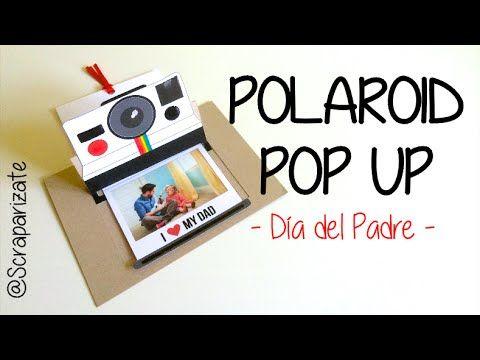Genial tarjeta para felicitar a tu familia o amigos en un día especial. Con efecto real de una polaroid, la fotografía sale de la cámara. Pon la imagen y el mensaje que quieras!