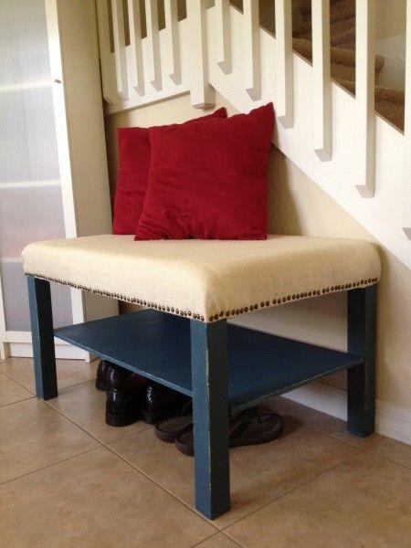 ikea lack coffee table transformed diy ikea lack. Black Bedroom Furniture Sets. Home Design Ideas