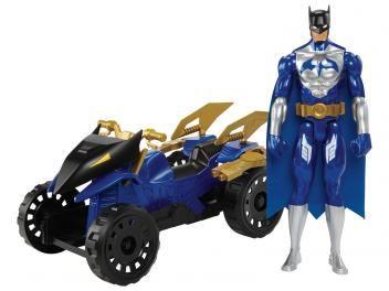 Boneco Batman Unlimited Batman & Attack ATV - Com Veículo - Mattel