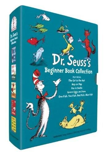 nice Dr. Seuss's Beginner Book Collection (Cat in the Hat, One Fish Two Fish, Green Eggs and Ham, Hop on Pop, Fox in Socks)