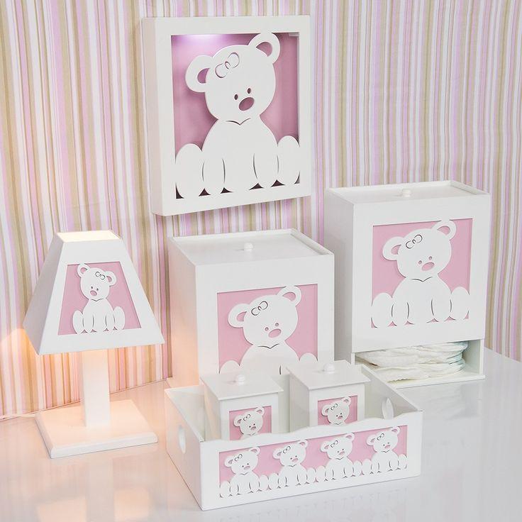 Kit Higiene Completo Ursa Baby | Grão de Gente