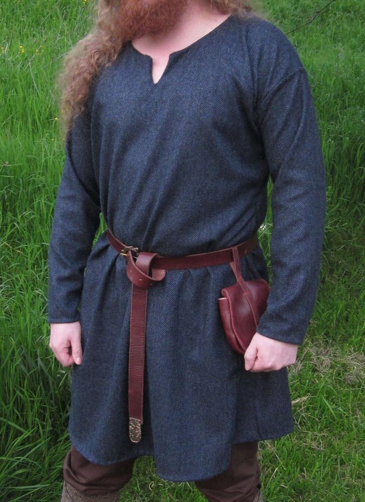 Men's Wool Viking Tunic - Custom Order. $125.00, via Etsy.