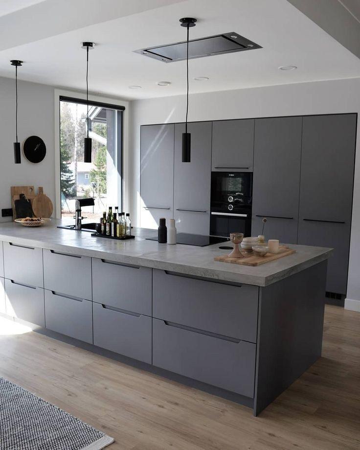 ✔60 gorgeous black kitchen ideas for every decorating style 2 #kitchendesign #kitchenideas